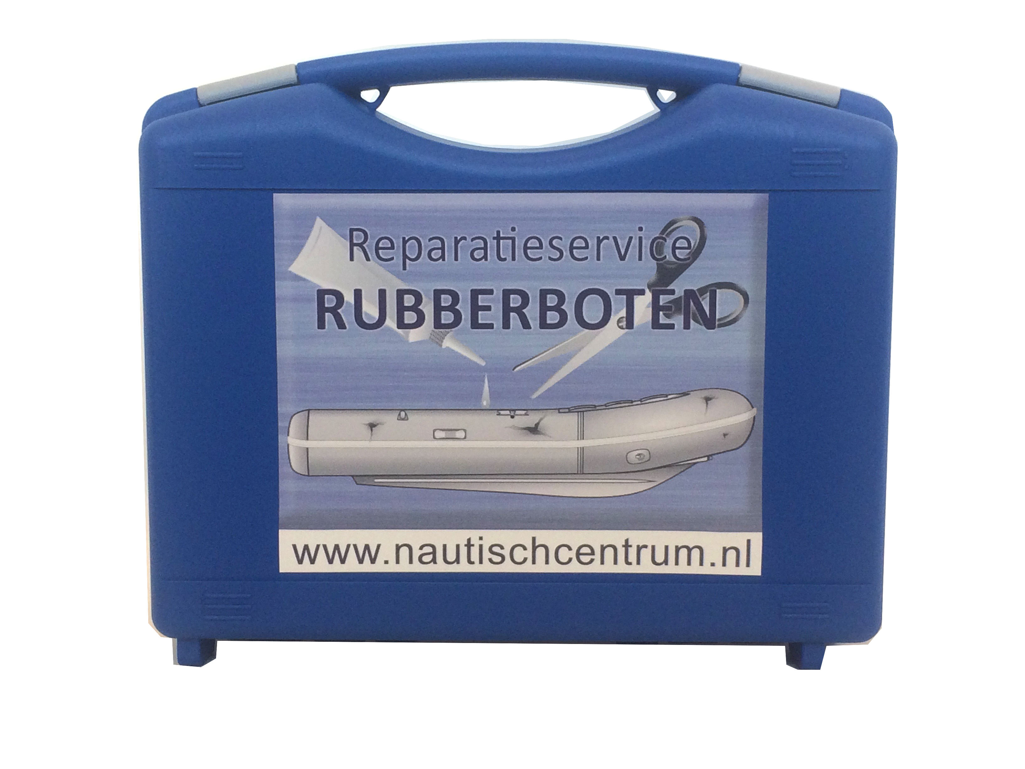 Inflatable boat repair kit